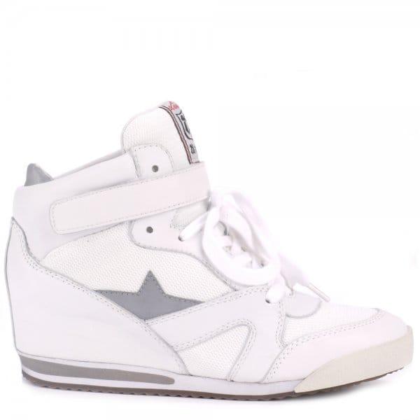 Ash JAZZ BIS white high-tops