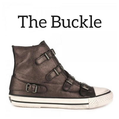 Ash Buckle Trainers