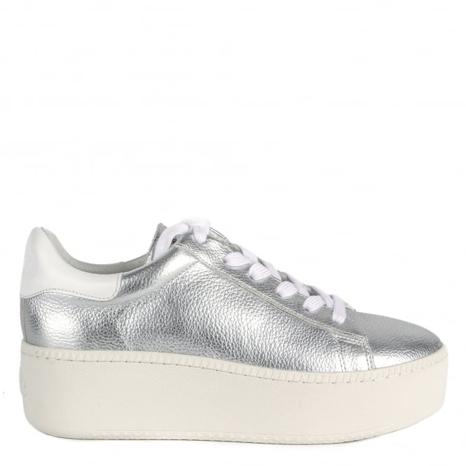 Ash CULT Trainers Silver Leather