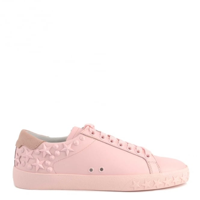 Ash DAZED Trainers Pastel Pink Leather & Suede