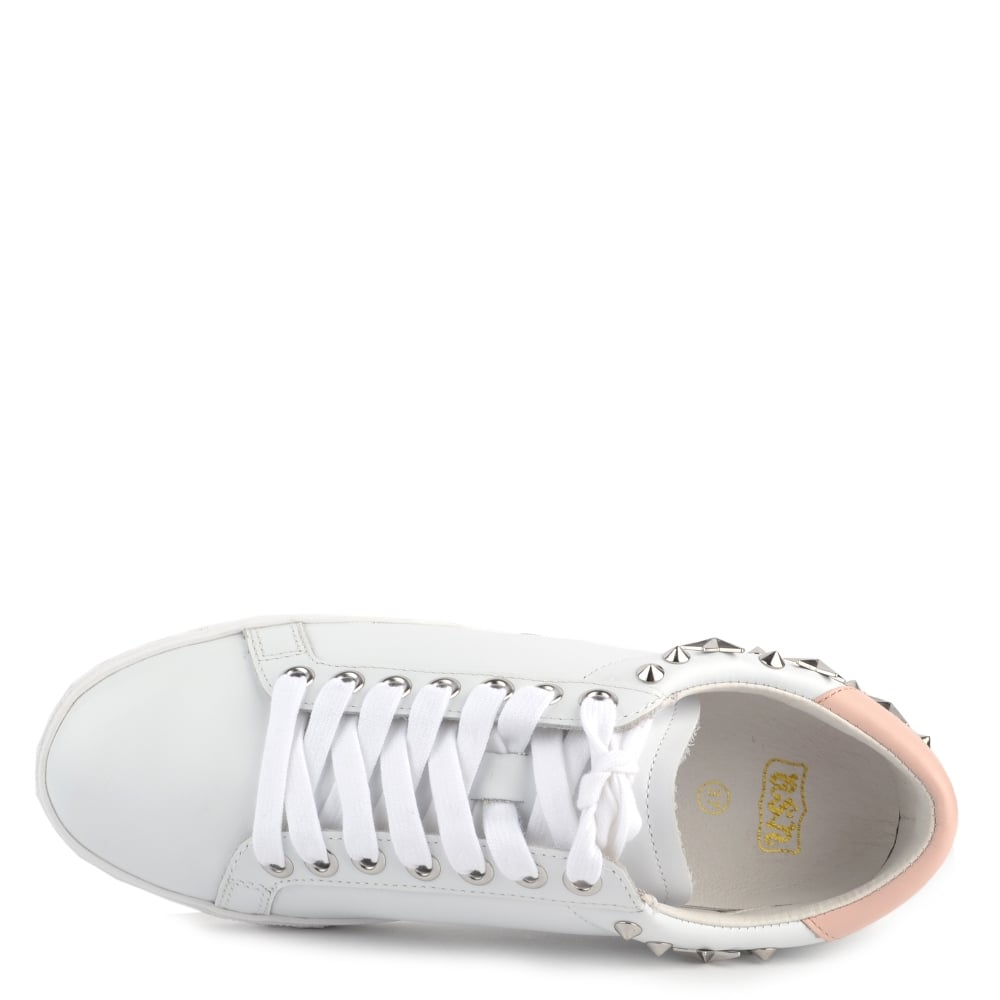 The Ash SS18 Dazed Trainers In White