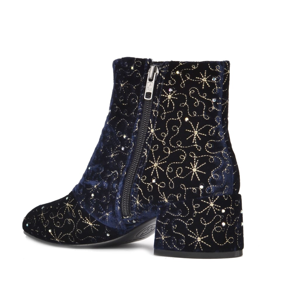 e49dc7645732f Shop Velvet Embroidered Diamond Boots At Ash Footwear Online Today
