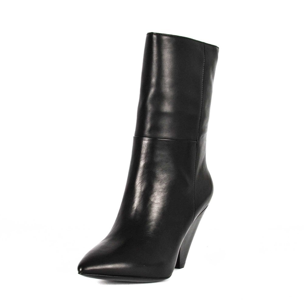 Ash Doll Mid Calf Leather Boots | Shop