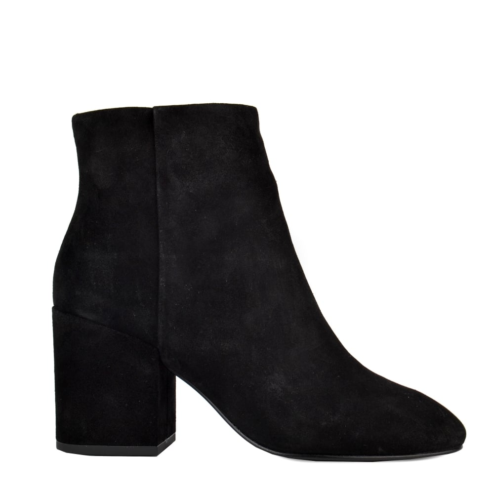 Ash Eden Ankle Boots Black Suede Women From Ash Footwear Uk