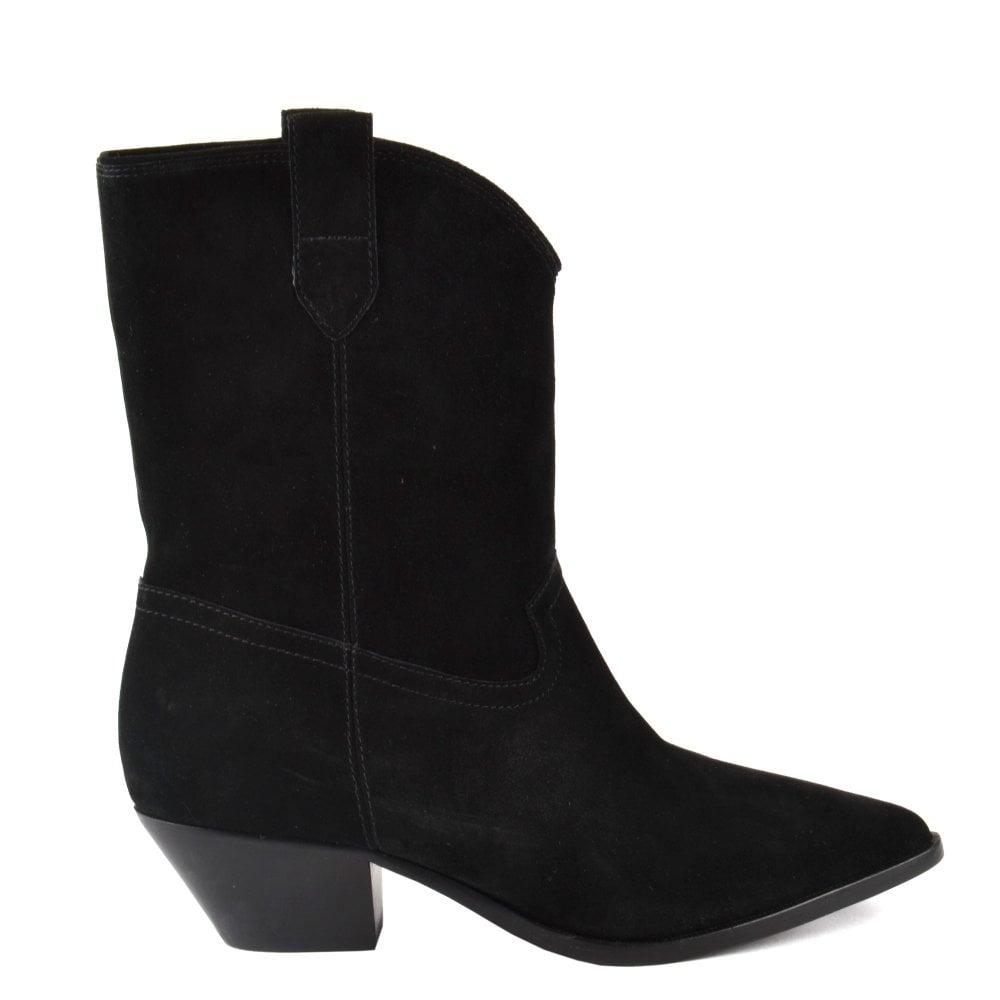 Shop Women's Western Black Suede Boots