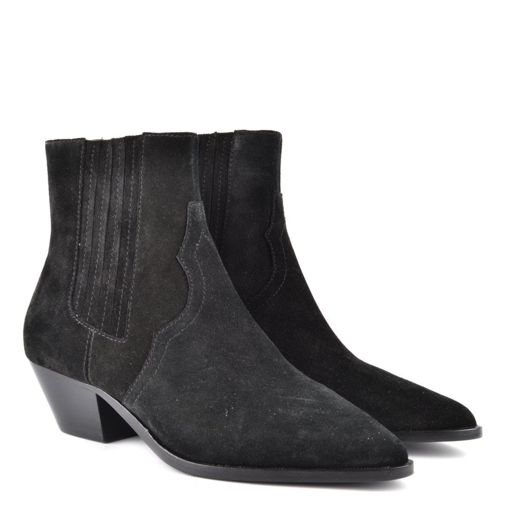 info for super cute vast selection FUTURE Ankle Boots Black Suede