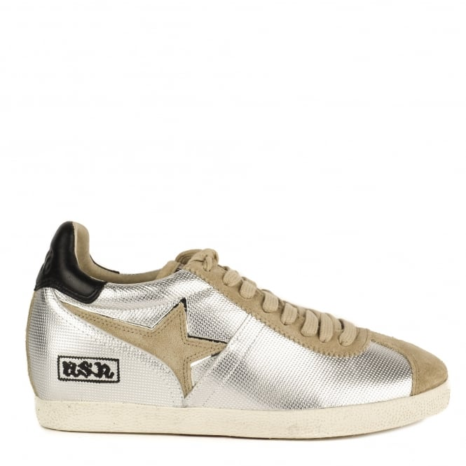 Ash GUEPARD TER Low-Wedge Trainers Silver Leather