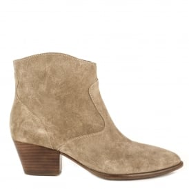 HEIDI BIS Boots Cocco Suede