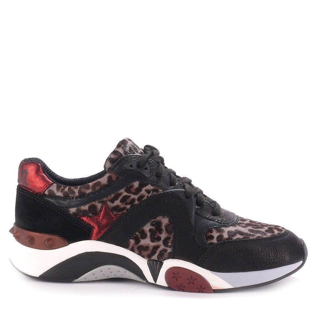 leopard skin sneakers