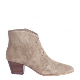 HURRICAN Boots Cocco Beige Suede