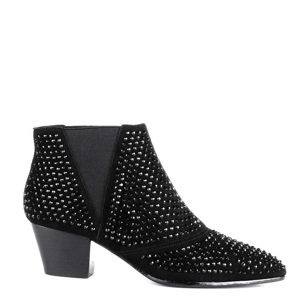Ash Ash HYPNOTIC Ankle Boots Black