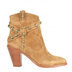 IMAGE Boots Santal Suede & Leather