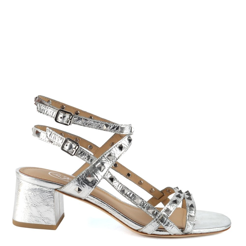 a900842e1a896e Iman | Shop Women's Silver Leather Sandals | Official SS19 ASH Range