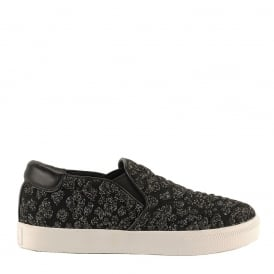 IMPULS Trainers Black & Fiesta Knit