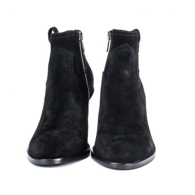 ba957c0b94e10 Shop Ash Footwear For Black Suede Boots - The Ivana Is Online Today