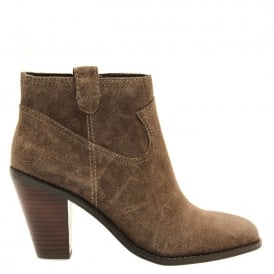 IVANA Ankle Boots Chestnut Suede