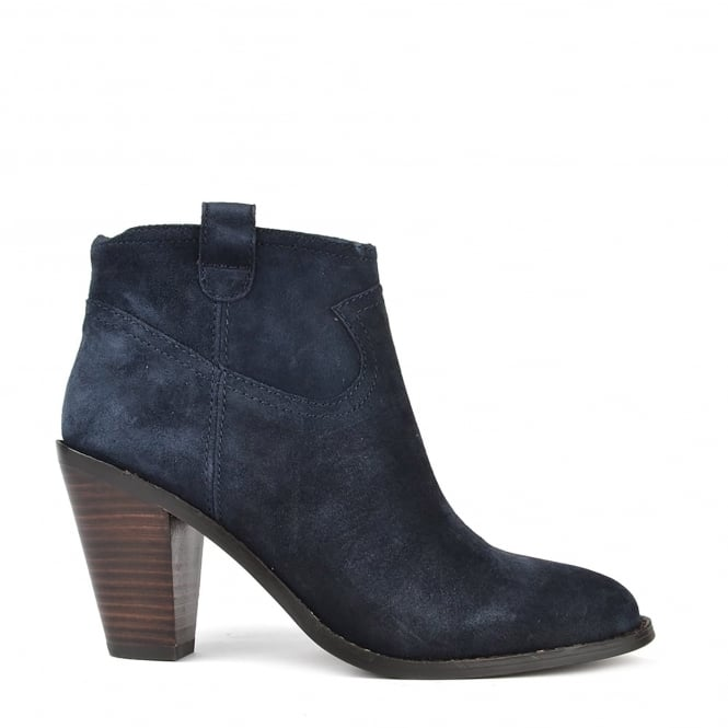 Ash IVANA Ankle Boots Midnight Suede