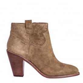 IVANA Ankle Boots Russet Suede