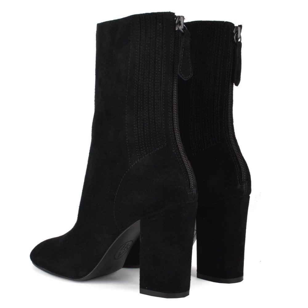 ASH Jasmin | Women's Black Suede Boots