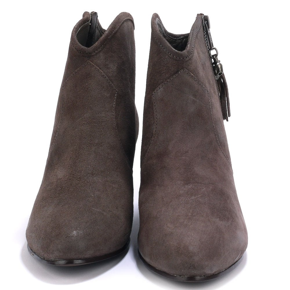 new arrival 6a64e 53d38 JESS Boots Topo Distressed Suede