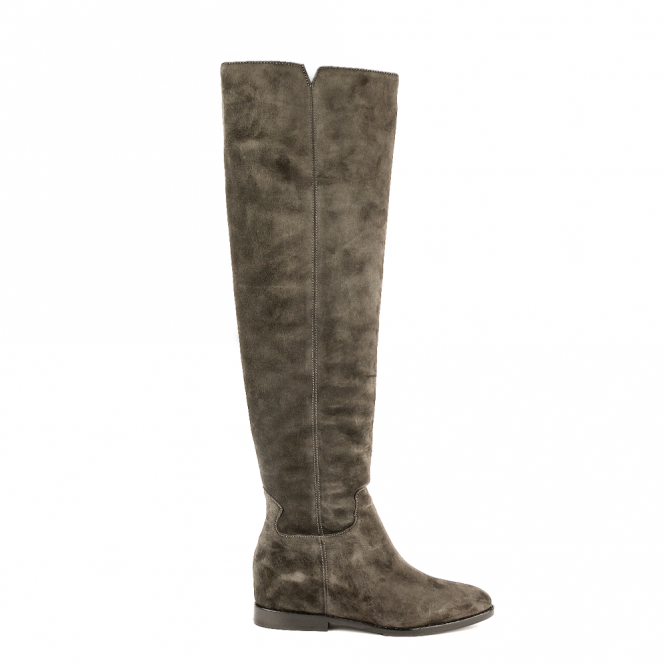 Ash JESS Knee High Boots Bistro Suede