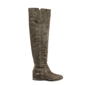 JESS Knee High Boots Bistro Suede