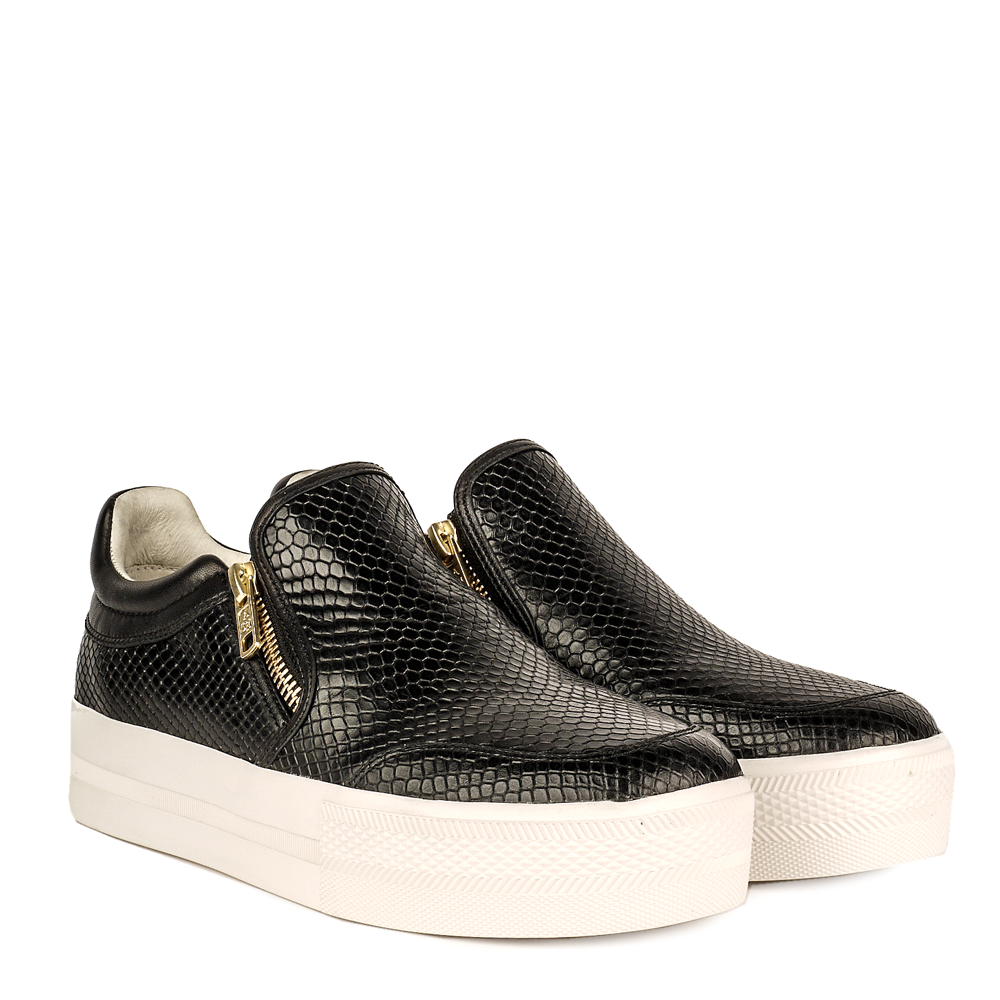 97c0d9c338252 Buy The Jordy Trainers from Ash Footwear in Black Leather Online Now