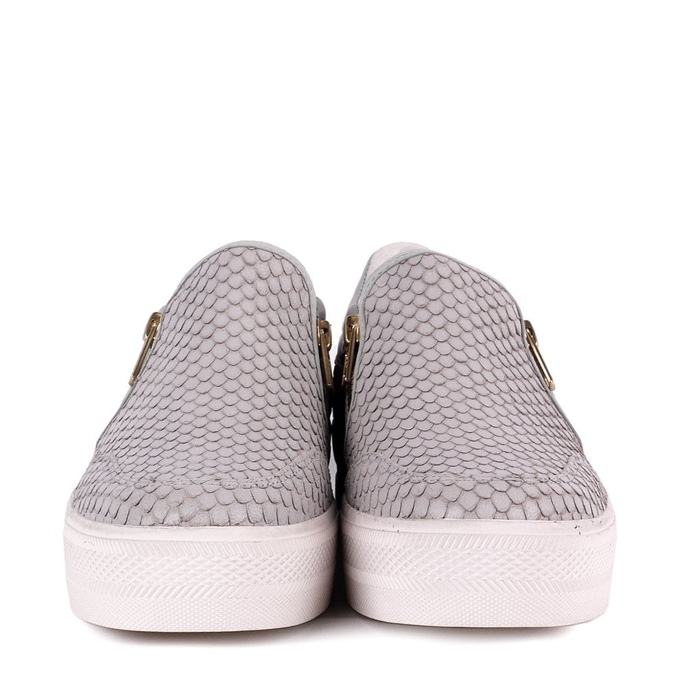 27bfb54dd7441 Buy The Jordy Trainers from Ash Footwear in Grey Leather Online Now