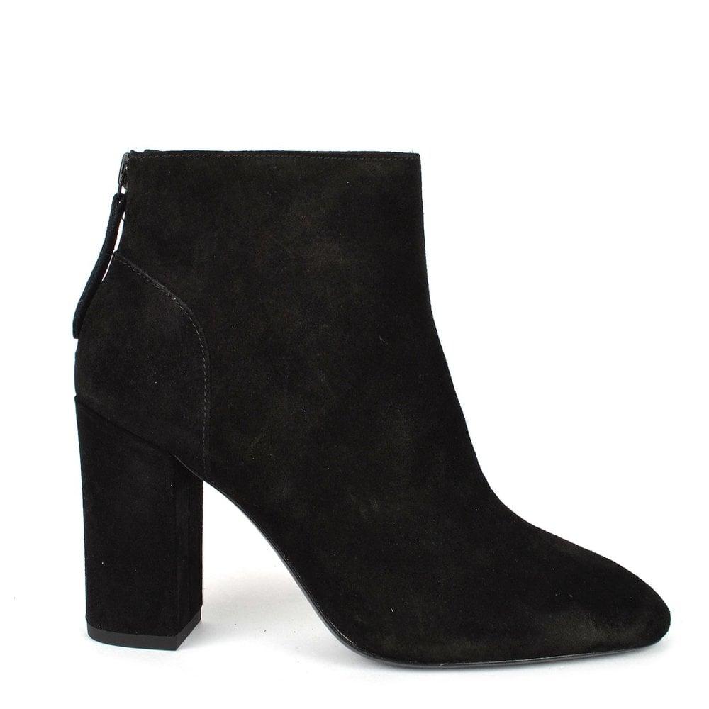 8b899394c222 Ash Joy Black Suede Ankle Boots