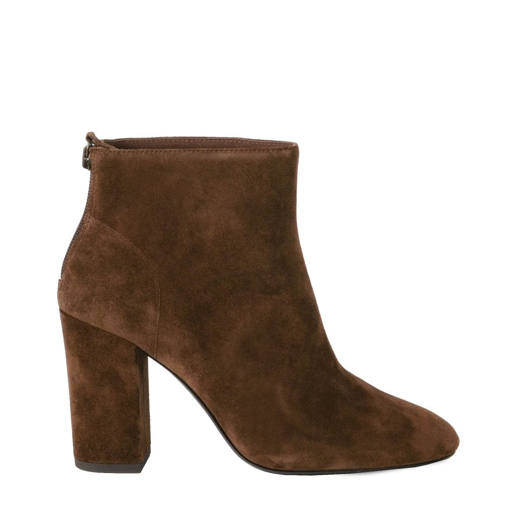 02b08d8ff92c6 Ash Joy Brown Suede Ankle Boots