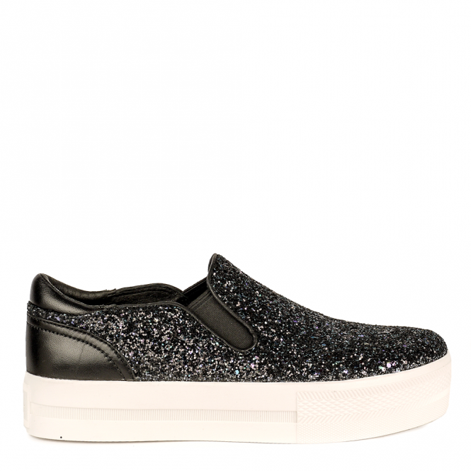 Ash JUNGLE BIS Trainers Midnight Glitter