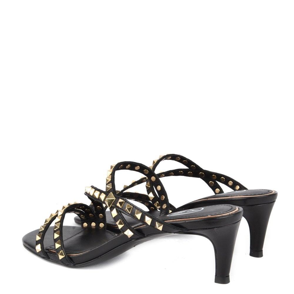 9a7a9b291e Kate Studs | Shop Women's Black Leather Heels | ASH UK Official Site