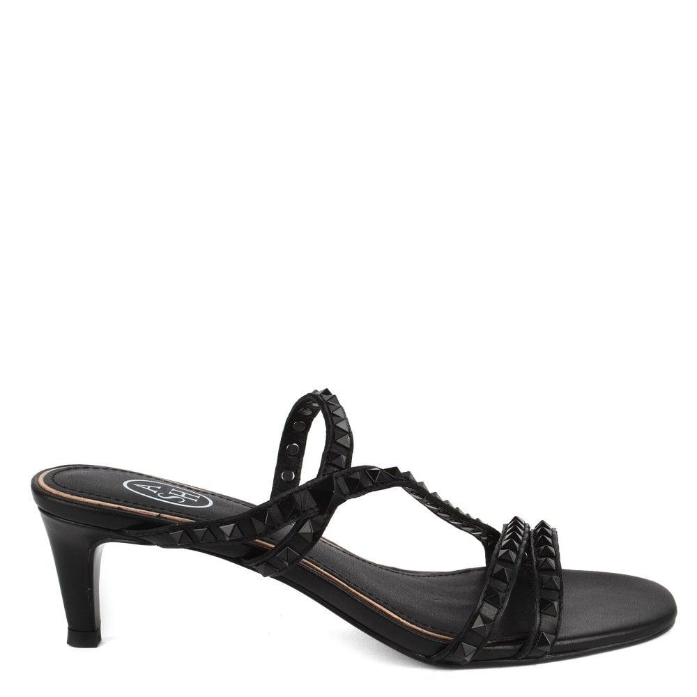 41cd408388 Kate Studs | Shop Women's Black Leather Sandals | ASH UK Official Site