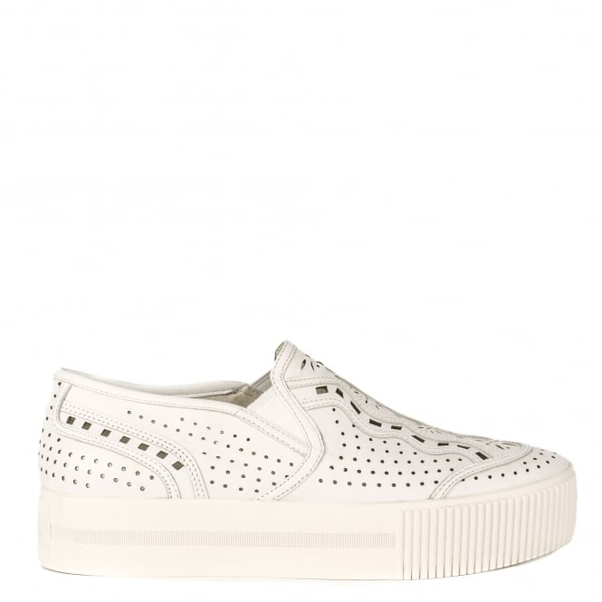 Ash KINGSTON Trainers White Leather