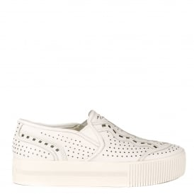 KINGSTON Trainers White Leather
