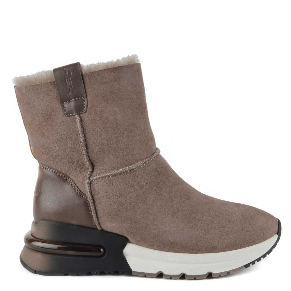 Kyoto   Women's Brown Trainer Boots