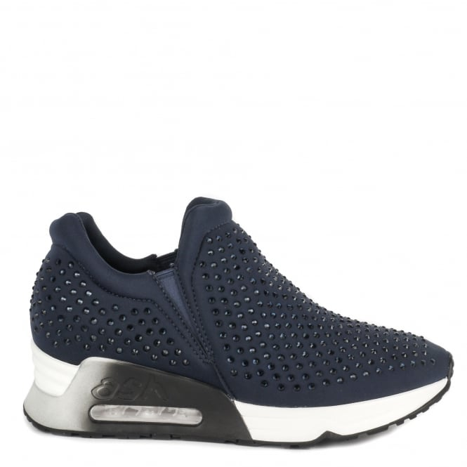 Ash LIFTING Trainers Navy Neoprene