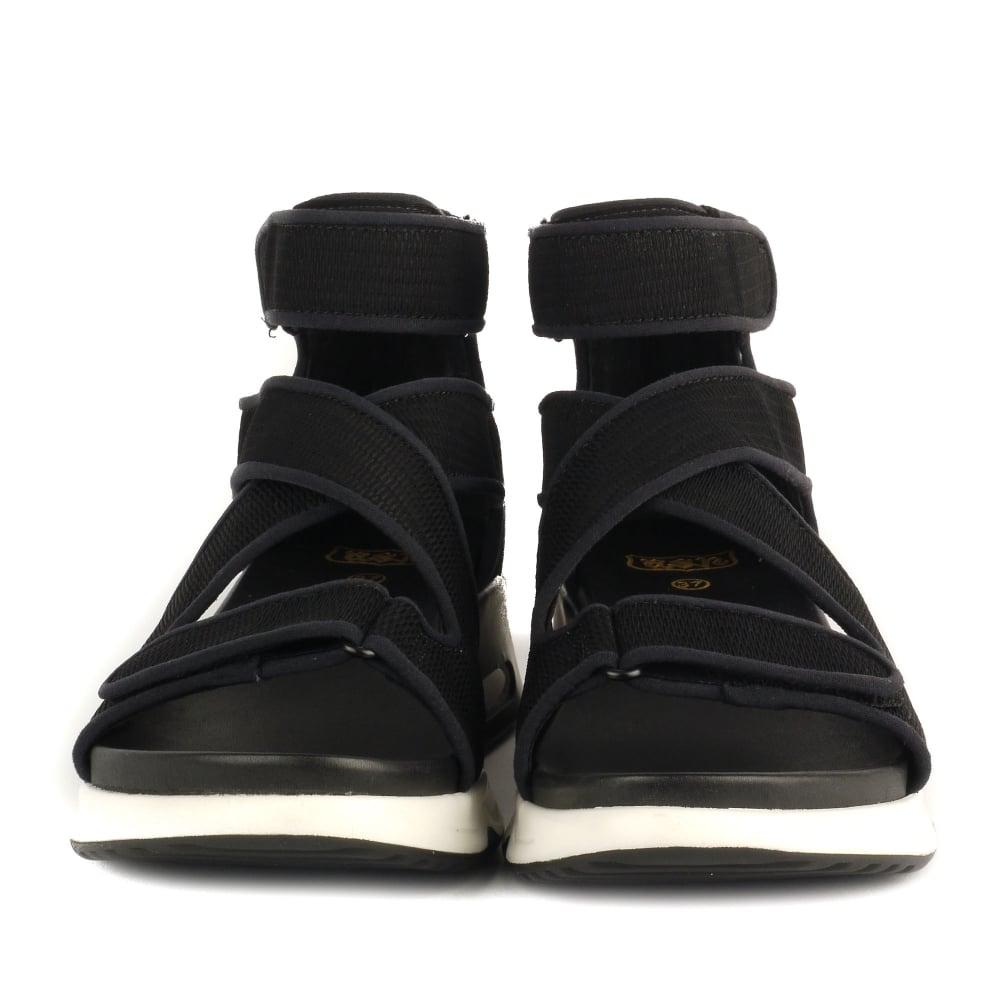 75a13f494b40f Shop Ash Footwear Lips Sandals in Black Neoprene & Mesh Online Today