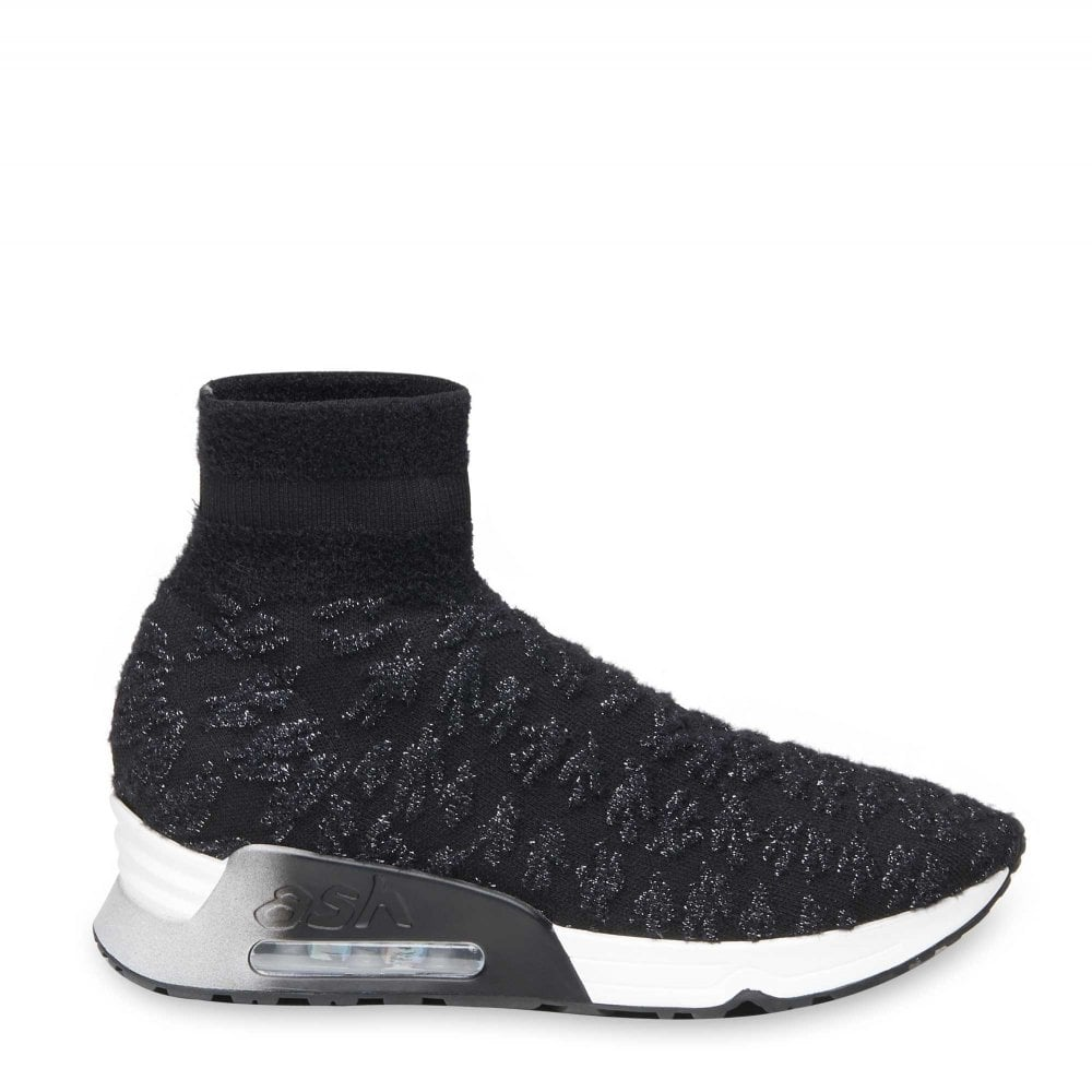Trainers Silver Trainers Lullaby Lullaby Silver Knit Blackamp; Blackamp; Knit Lullaby UMSGLqzVp