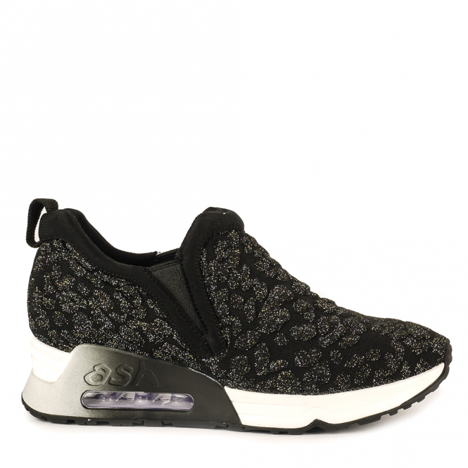 Ash LUV Trainers Black & Fiesta Knit