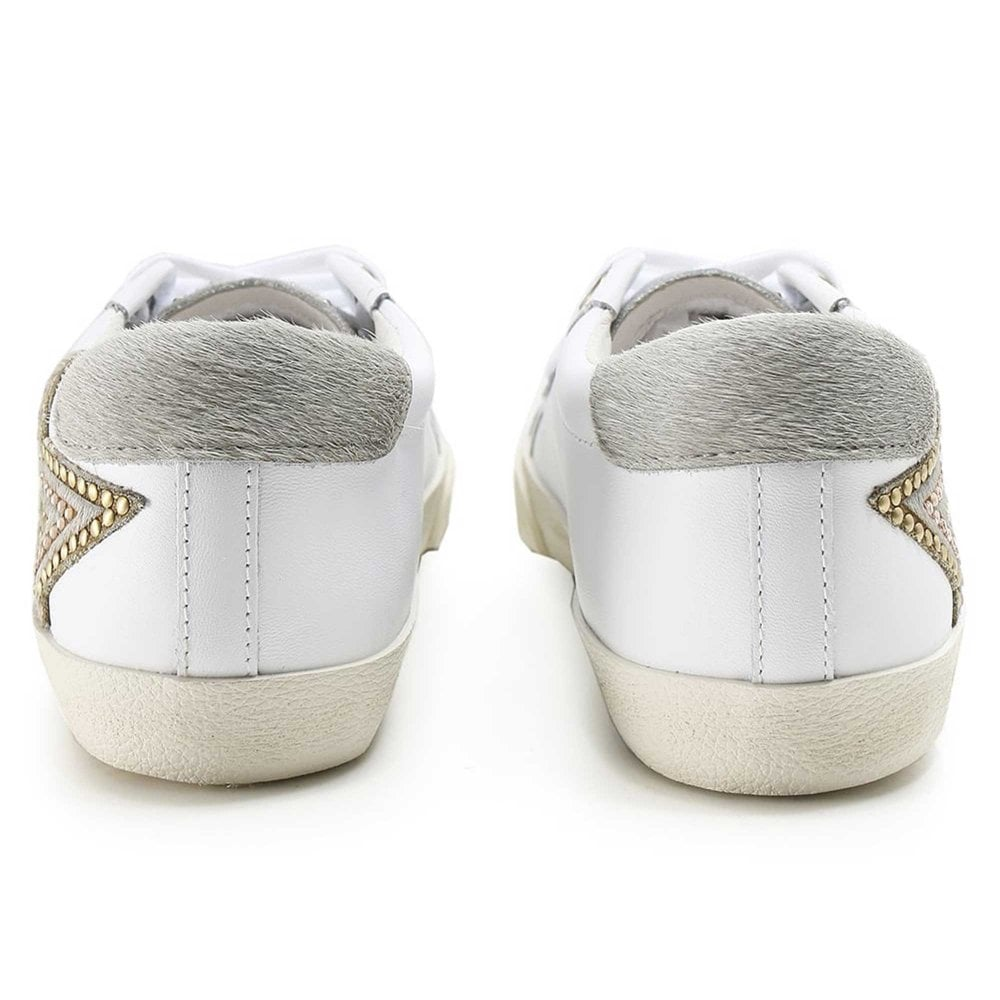 Ash Magic White Leather Sneakers   Shop