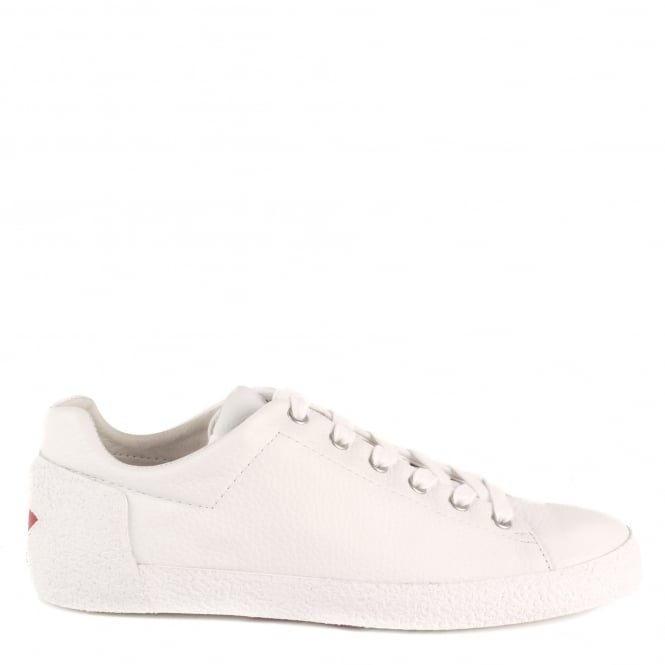 Ash Men's NIKKO Trainers White Textured Leather