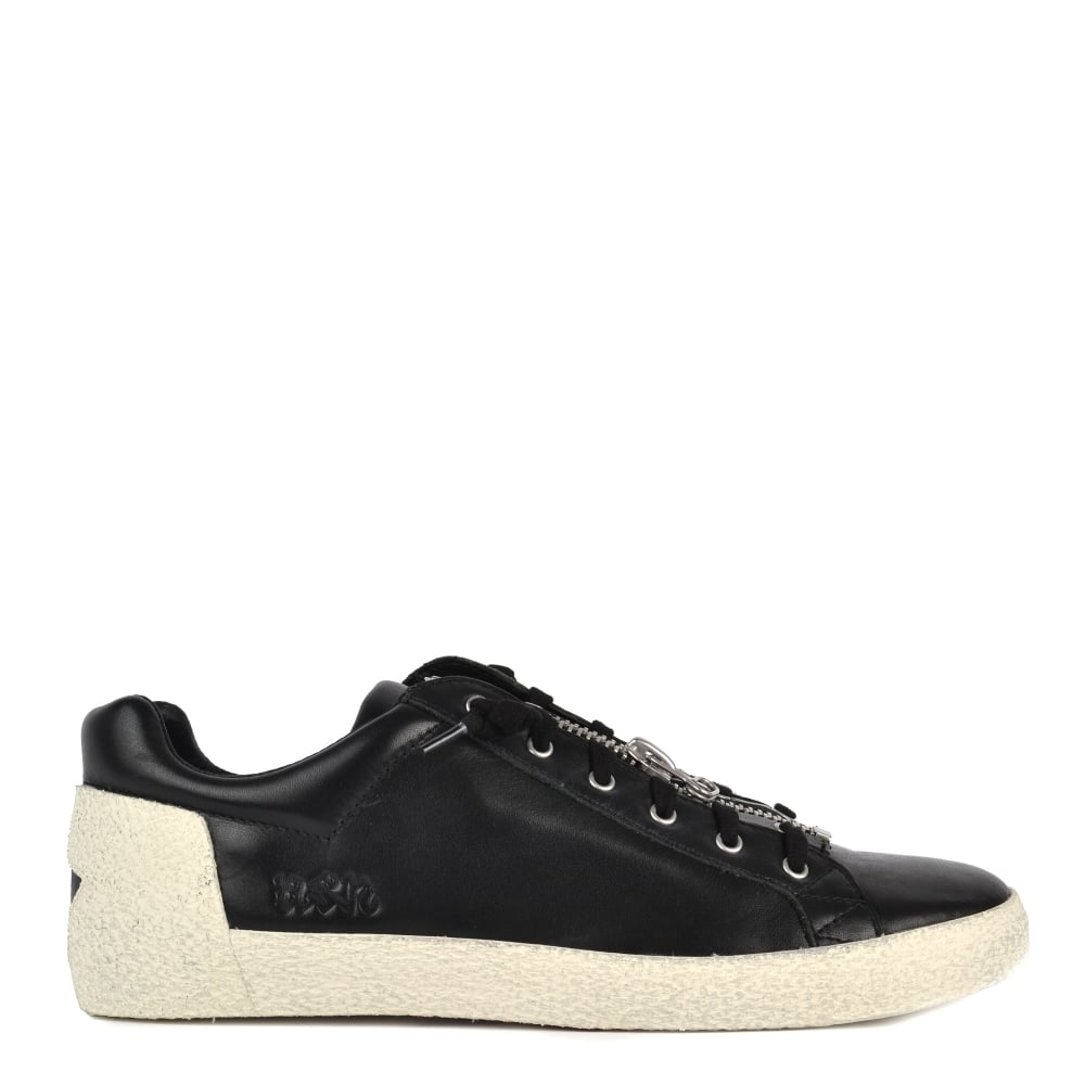 Shop Ash Mens Footwear - Nilo Black Leather Trainers Are Online Today 5dfc04925