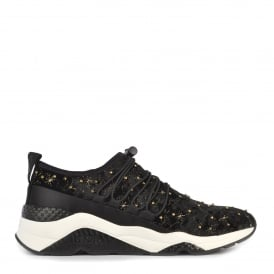 MISSTIC Trainers Black Velvet