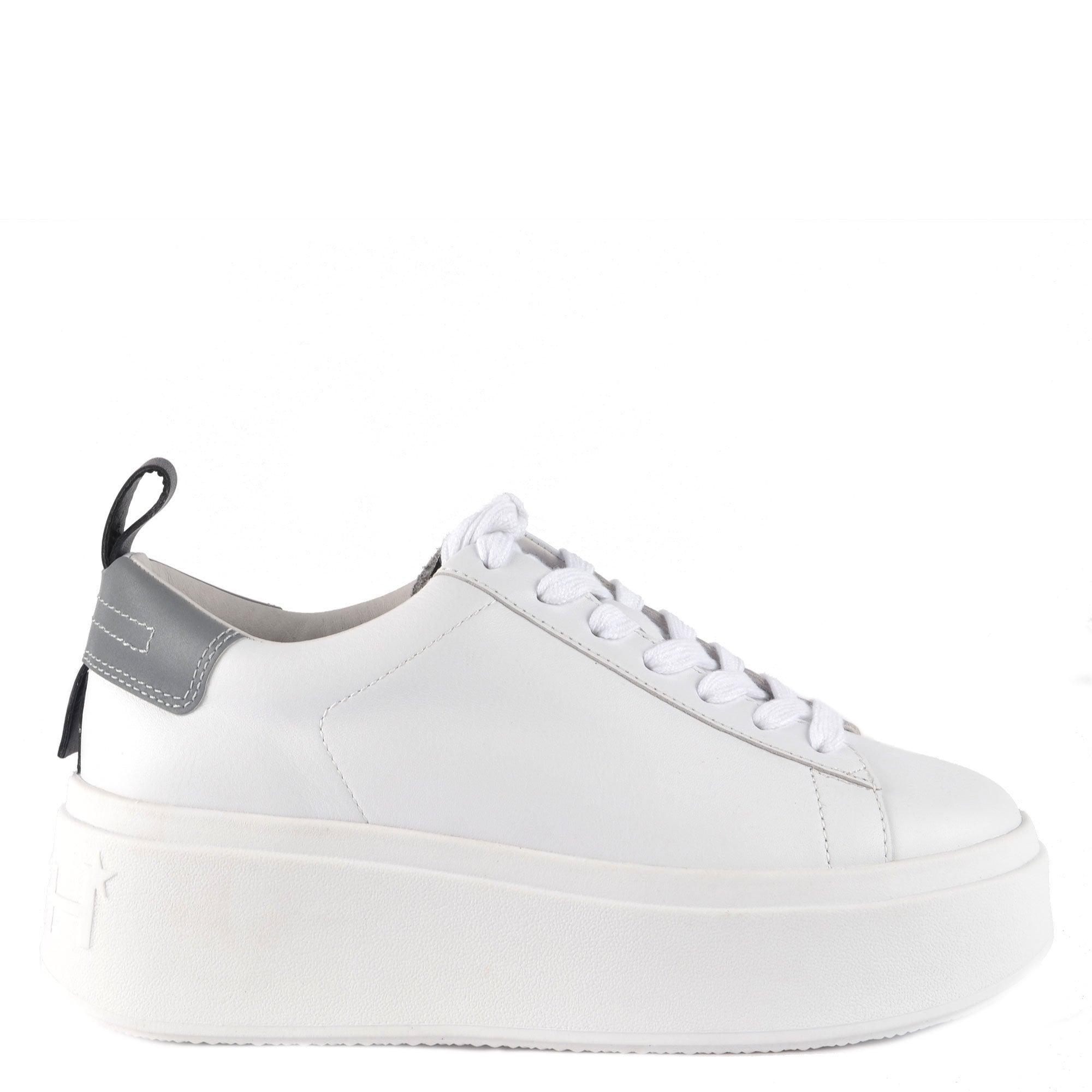 Ash Moon Platform White Sneakers