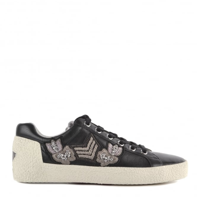 Ash NAK ARMS Trainers Black Leather