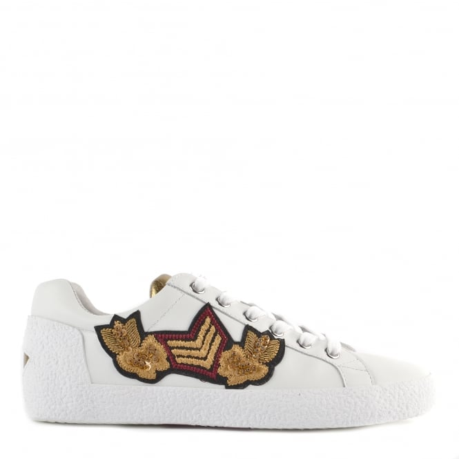 Ash NAK ARMS Trainers White Leather
