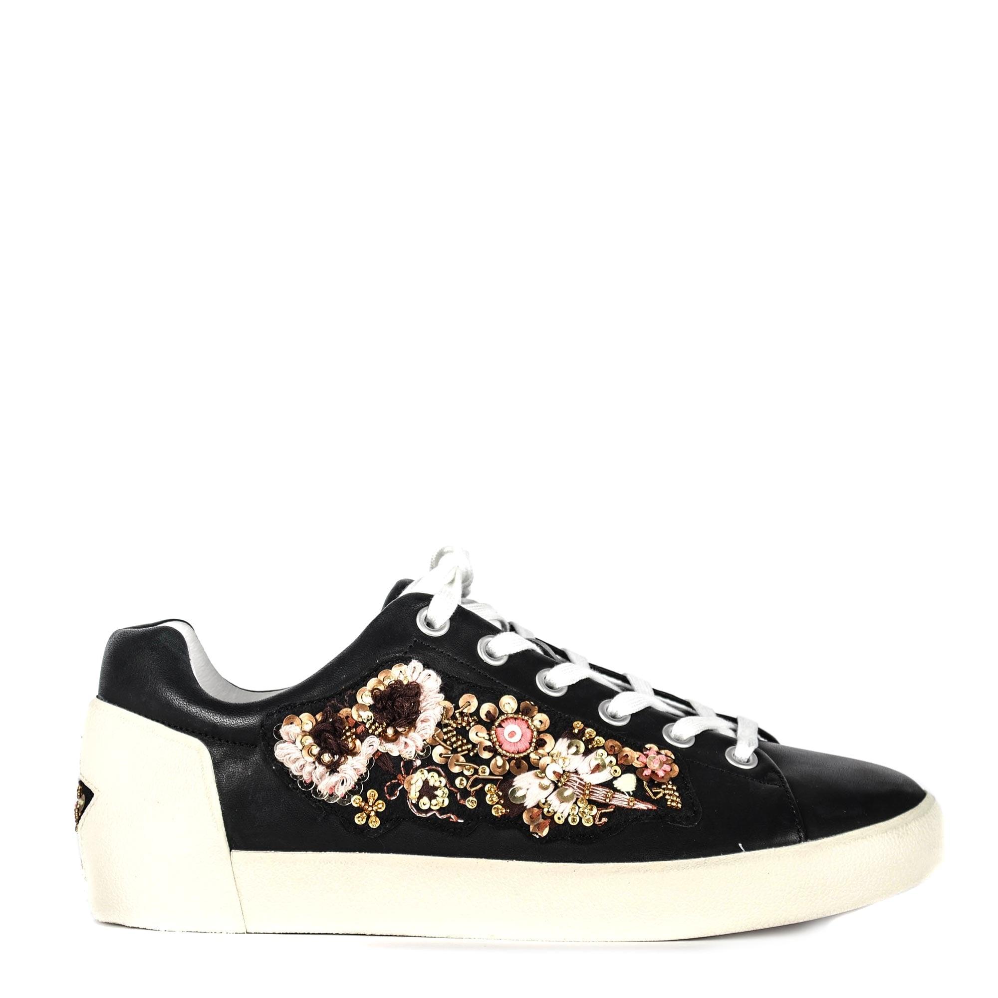 Ash Naoki Black Leather Sneakers | Shop