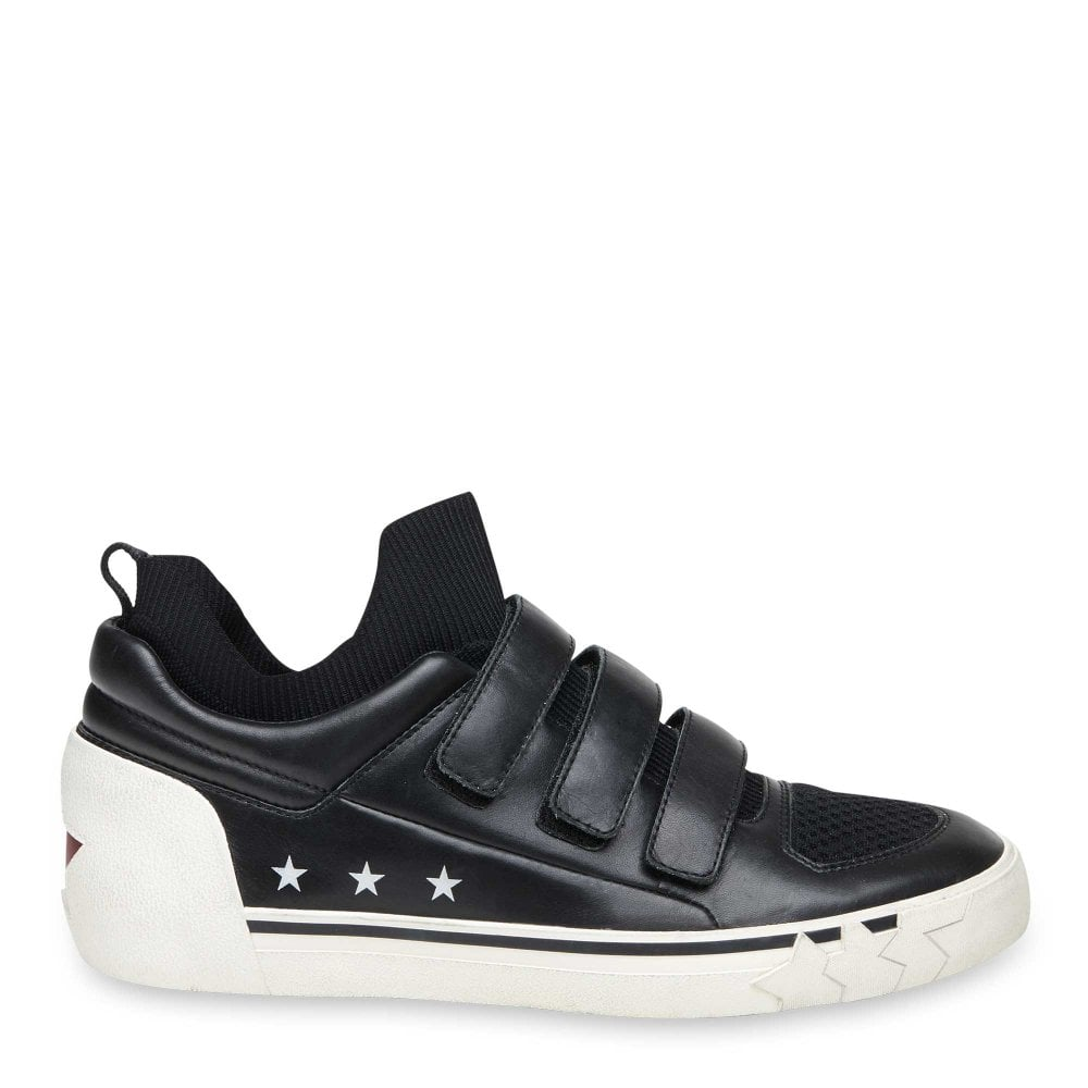 Ash Neptune Black Leather Trainers