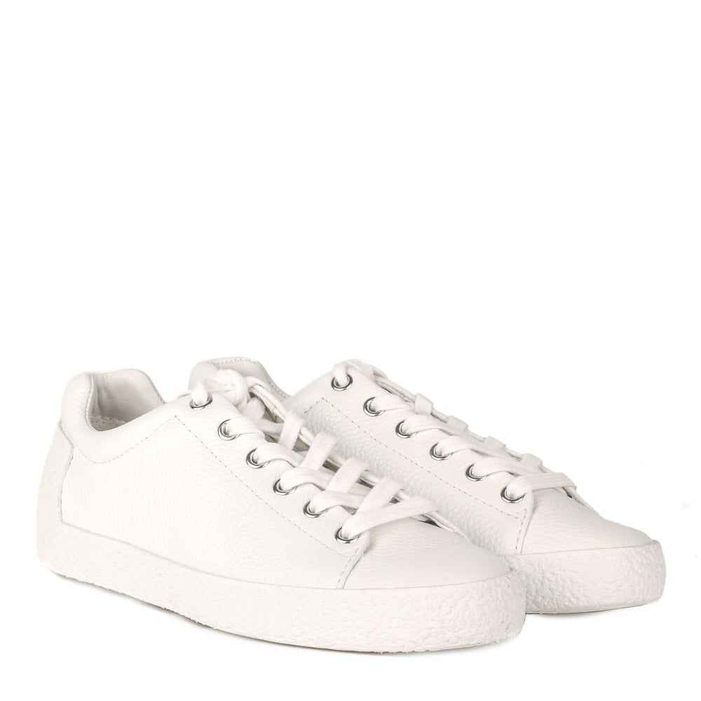 Shop Ash Footwear - Nicky White Leather